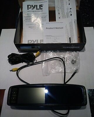 Pyle PLCM4300WiR Vehicle Wireless Rear View Mirror Back-Up Monitor - MIRROR ONLY