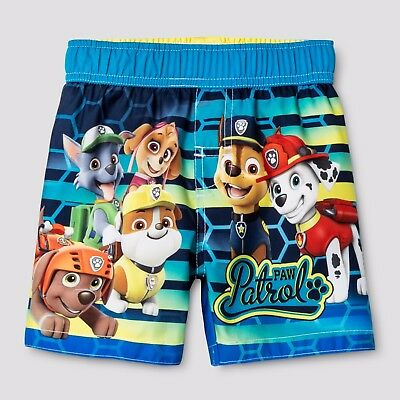 Nickelodeon Paw Patrol Swim Trunks - Boys 4T - New with Tags - FREE Shipping