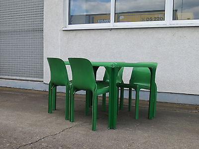 Vico Magistretti Essgruppe Dinnig Set Selene Chair Stadio Tisch Table Artemide 2
