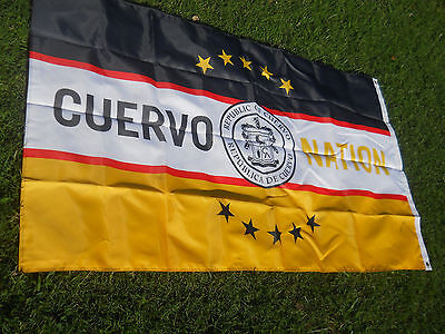 Republic of Cuervo Flag--Cuervo Nation--Large 72x41 Gold and Black-New