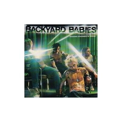 Backyard Babies - Making Enemies Is Good - Backyard Babies CD SZVG The Cheap The