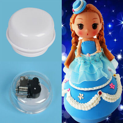 Rotating Music Box Base Pedestal DIY Accessory Songful Music Rotary Movement