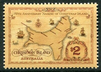 350th ANNIVERSARY OF THE NAMING OF CHRISTMAS ISLAND 1993 - MNH (R22-JP)