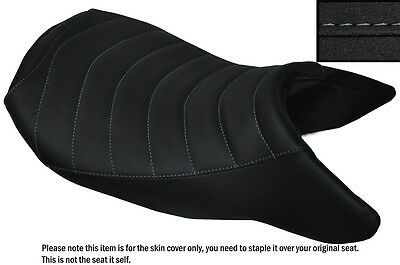 Grip Line Design Grey St Custom Fits Bmw R 1200 Rs 15-16 Front Low Seat Cover