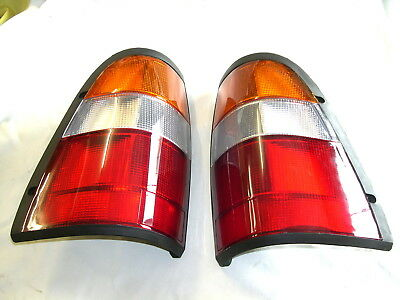 Pair Of New Tail Lights / Lamps + Globes Etc. For Holden Tf R7 R9 Rodeo  97-02