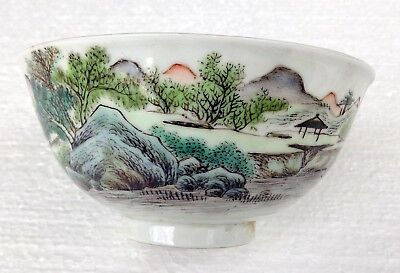 CINA (China): Old and very fine Chinese porcelain bowl