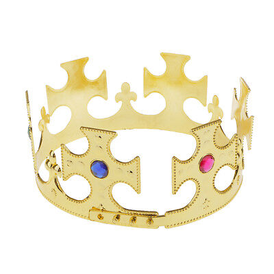 Nativity Majestic Crown King or Queen Fancy Dress Cosplay Costume Party Prop