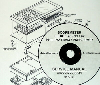 FLUKE REPAIR & Service Owner Schematics PDFs (>500) manuals