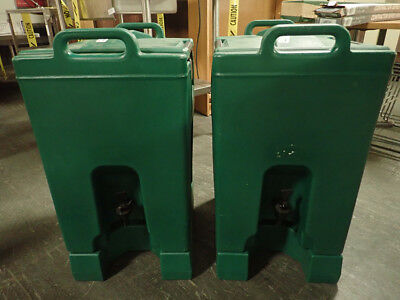 Cambro Hot And Cold Beverage Holders On Stands