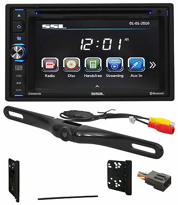 2001-2005 Ford Explorer DVD/CD/AM/FM Receiver Player Monitor w/ Bluetooth+Camera