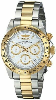 Invicta Speedway Silver Dial Two-Tone SS Crhonograph Quartz Men's Watch 9212