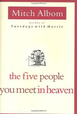 The Five People You Meet in Heaven by Albom, Mitch Book The Fast Free Shipping