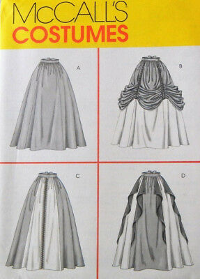 OoP Renaissance Laced Skirt PATTERN Medieval McCalls 4090 Garb 10 - 16 Costume
