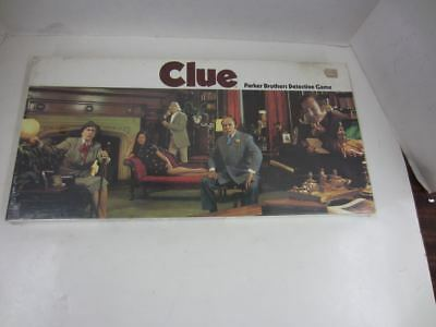 Vintage 1972 Parker Brothers No. 45 CLUE Detective Game Factory Sealed New