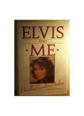 Elvis and Me by Harmon, Sandra Hardback Book The Fast Free Shipping