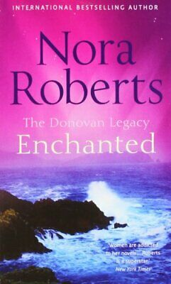 Enchanted (Donovan Legacy) by Roberts, Nora Paperback Book The Fast Free