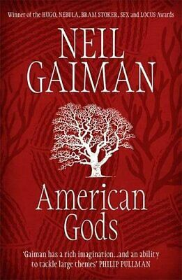American Gods by Gaiman, Neil Paperback Book The Fast Free Shipping