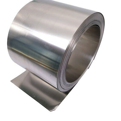 US Stock 0.15mm x 100mm x 2000mm 304 Stainless Steel Fine Plate Sheet Foil