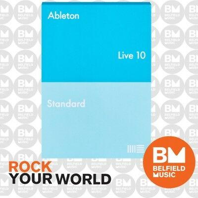 Ableton Live 10 Standard Upgrade from Live Intro Software - Serial Only (NO BOX)