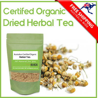 Australian Certified Organic Dried Herbal Tea Herb  Herbs Herbal Tea Bag