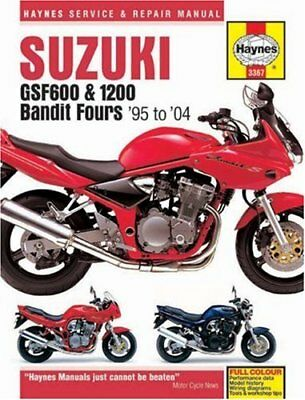 Suzuki GSF600 and 1200 Bandit Fours Service an... by Coombes, Matthew Board book