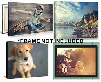 Custom Canvas Print, High Quality your own photo, Graphic on artistic Canvas