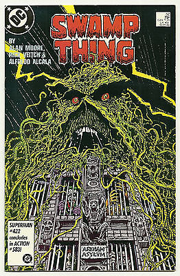 Swamp Thing 1986 #52 Very Fine/Near Mint Alan Moore