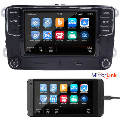 "6.5"" Car Audio RCD330G+ RCD510 Radio,BT,USB,RVC,AUX,VW Golf,Caddy,Polo,EOS,GTI"