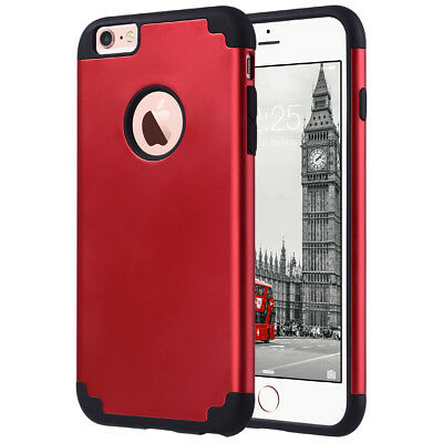 ULAK Slim Dual Layer Hard Shell PC Shockproof Case Cover for iPhone 7 Plus 7 6