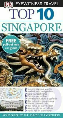DK Eyewitness Top 10 Travel Guide: Singapore by Eveland, Jennifer Book The Fast