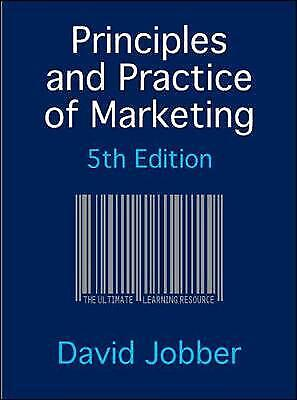 Principles and Practice of Marketing by Jobber, David