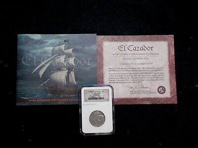 1783 Mo FF El Cazador NGC SHIPWRECK GENUINE  2R Coin Auction Starts At 99 Cents!