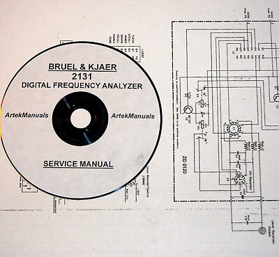 Bruel-Kjaer Service Manual for 2131 Digital Freq. Analyzer Full size schematics
