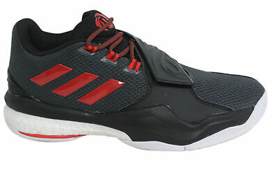Adidas D Rose Englewood Boost Mens Lace Up Black Basketball Trainers AQ8106 U16