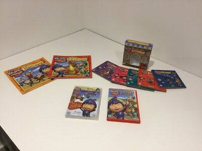 Kids Mike The Knight Books & DVD Bundle Job Lot Preowned Vgc