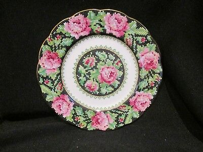 Royal Albert - NEEDLE POINT - Bread and Butter Plate