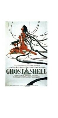 GHOST IN THE SHELL ~ WIRES 22x34 ANIME POSTER Manga Mamoru Oshii NEW/ROLLED!