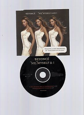 ☆☆ BEYONCE ME MYSELF AND I -  2 Track  CD SINGLE ☆☆