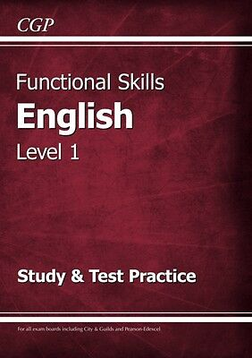 Functional Skills English Level 1 - Study & Test Practice (Paperb. 9781782946298