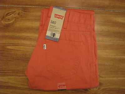 Levi's 505 Youth/Child Size 12 Regular (26x26) New Kids Jeans/Pants/Clothing