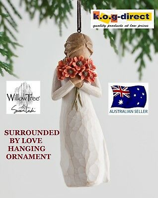SURROUNDED BY LOVE ORNAMENT Willow Tree Figurine By Susan Demdaco Lordi NEW