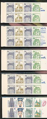 36191/ Berlin ** MNH Lot MH / Booklet B+S