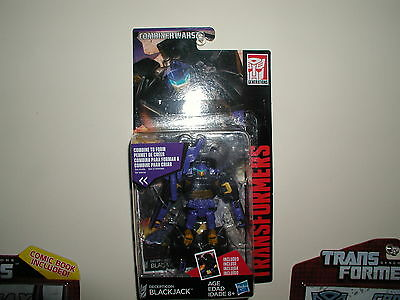 TRANSFORMERS BLACKJACK combiner wars legends class generations figure NEW/SEALED