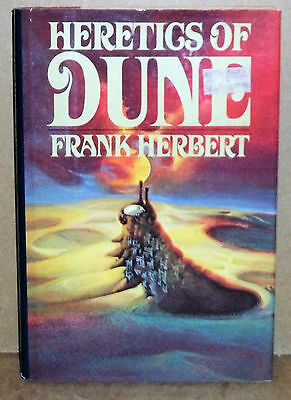 Heretics Of Dune Hardcover Book By Frank Herbert 1984
