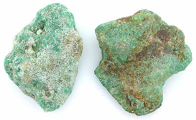 49.1 Grams Two Sonoran Turquoise Slice Slab Cab Cabochon Rough Gemstone T3MA94