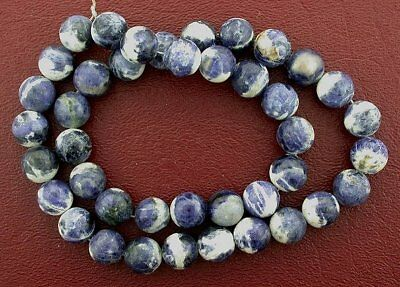 "10mm Round Gemstone Sodalite Beads Gem Stone 15"" Strand"