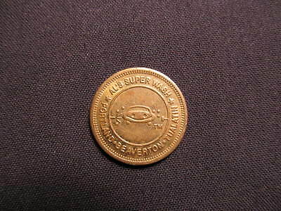Al's Super Wash Car Wash Token - Portland, OR Car Wash Coin - Carwash Token