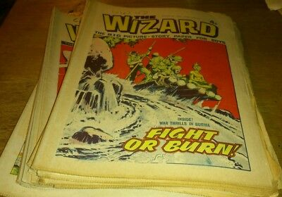 18 Wizard Comics, 1974