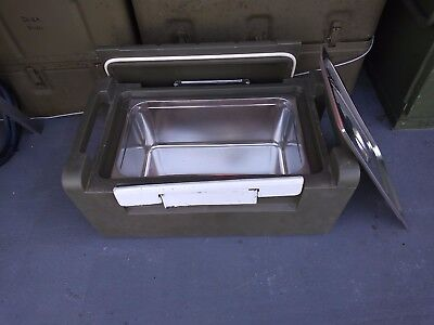 Military Sintoplast Hot/cold Food Storage Container Transport Gb-7 Gal-28L