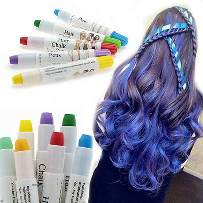 Temporary Hair Spray Many Colors Easy Highlight color Disposable hair crayon TB